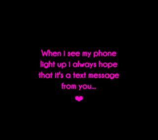 Обои на телефон сообщение, ты, от, любовь, высказывания, message from you, love