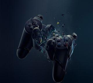 Обои на телефон игры, игра, joystick, game over