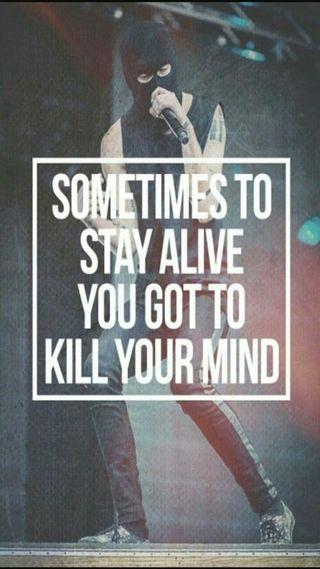 Обои на телефон цитата, разум, живой, вдохновение, stay, kill