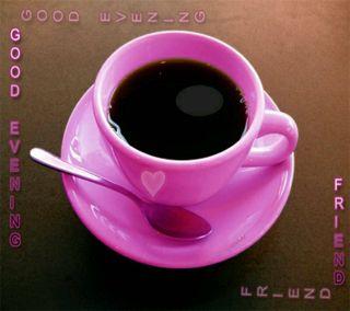 Обои на телефон чай, черные, чашка, розовые, вечер, pink cup, good evening, black tea