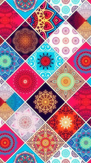 Обои на телефон мандала, шаблон, фиолетовые, узоры, супер, розовые, дизайн, громить, блестящие, uplifting, mandala pattern