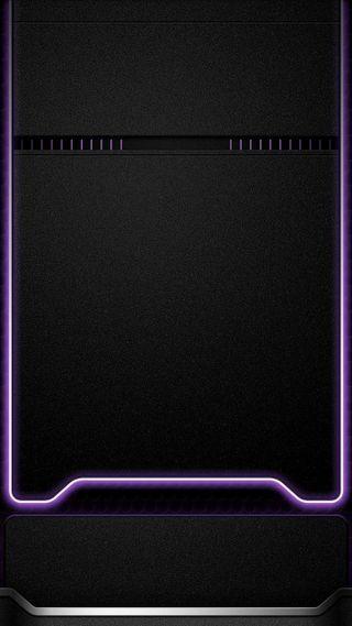Обои на телефон черные, фиолетовые, неоновые, минимализм, грани, абстрактные, s8, s7