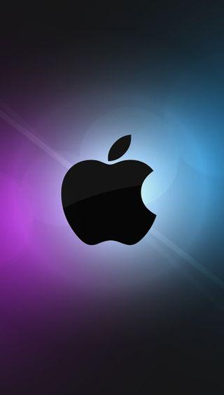 Обои на телефон эпл, черные, цветные, mac, apple, 2014