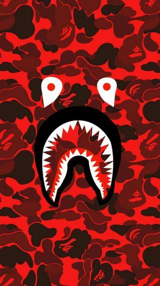 Обои на телефон бейп, черные, рок, красые, камни, везучий, боль, белые, акула, rolling