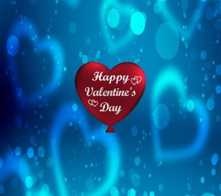 Обои на телефон счастливые, синие, сердце, праздник, повод, неоновые, красые, валентинки, валентинка, happy