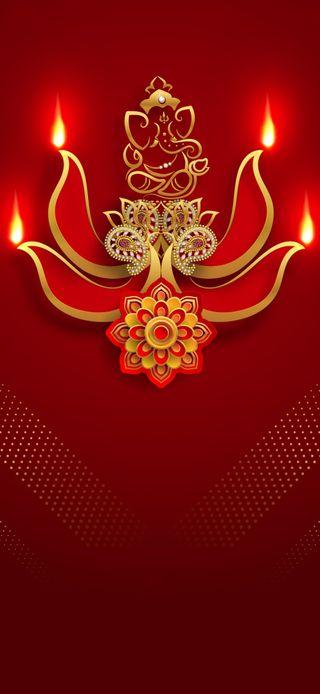 Обои на телефон зодиак, фантазия, святые, новый, золотые, ганеш, ganesh wallpaper