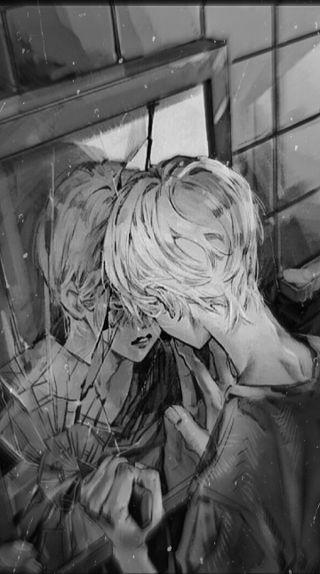 Обои на телефон эстетические, одинокий, мальчики, мальчик, депрессивные, грустные, аниме