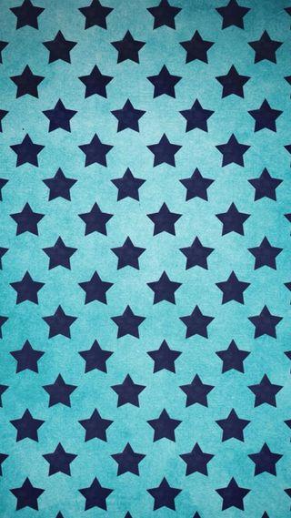 Обои на телефон формы, шаблон, синие, звезды