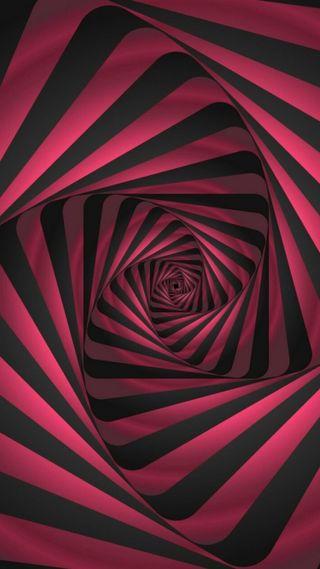 Обои на телефон спираль, странные, симпатичные, серые, розовые, полосы, optical, 929, 4k