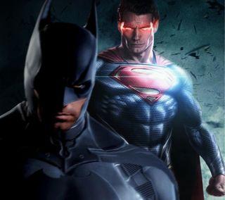 Обои на телефон супергерои, супермен, рисунки, против, мультфильмы, марвел, комиксы, голливуд, бэтмен, актер, superman vs batman, dc