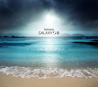 Обои на телефон небо, галактика, sky galaxy s3, galaxy s3