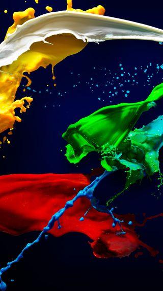 Обои на телефон рисунки, цветные, paint dye