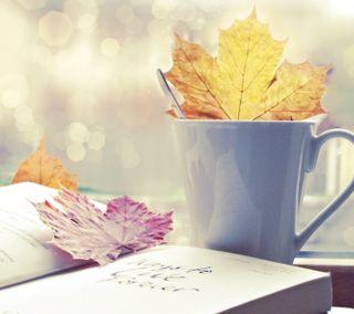 Обои на телефон книга, осень, жизнь, mug, autumn still life