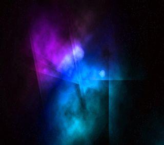 Обои на телефон цвет морской волны, фиолетовые, синие, звезды, дизайн, абстрактные, jellybean, ics, cosmological remixed