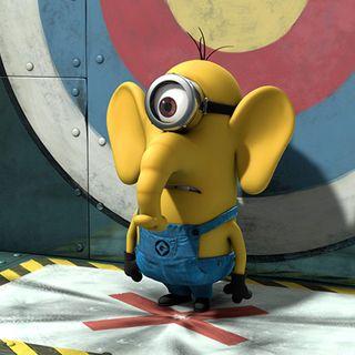 Обои на телефон слон, я, фильмы, мультфильмы, миньоны, minion elephant