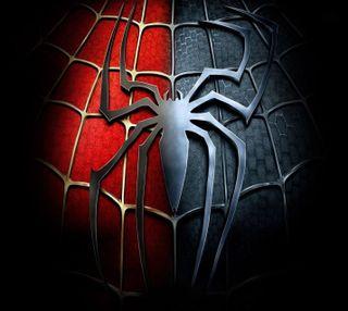 Обои на телефон человек паук, паук, логотипы