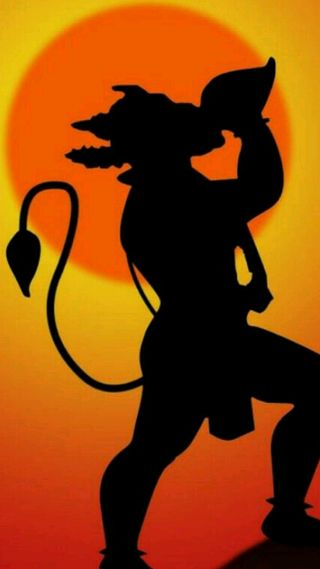 Обои на телефон хануман, тема, индийские, бог, jai, immortal