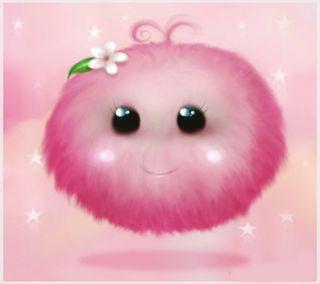Обои на телефон пузыри, розовые