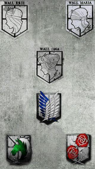 Обои на телефон стена, розы, манга, атака на титанов, аниме, wall sina, wall rose, wall maria