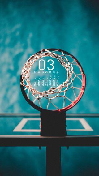 Обои на телефон продуктивность, март, календарь, календари, баскетбол, march basketball
