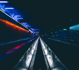 Обои на телефон туннель, лондон, огни, новый, underground