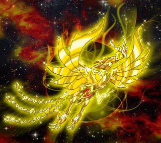 Обои на телефон святой, зодиак, аниме, zodiaco, sekishiki, seiya, fenix
