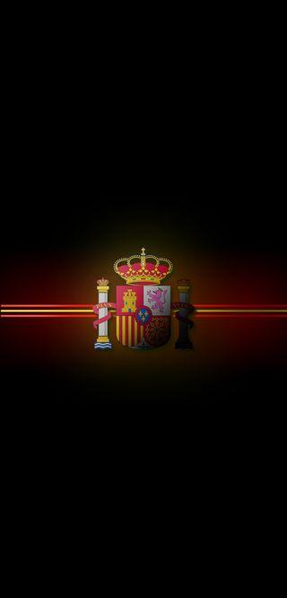 Обои на телефон омг, логотипы, красные, испания, желтые, patria, espanya, arriba