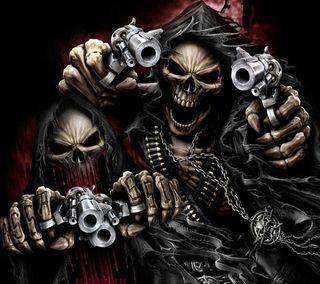 Обои на телефон оружие, мрачные, reapers
