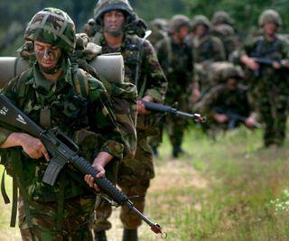 Обои на телефон британский, армия