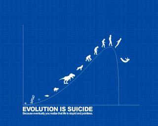 Обои на телефон эволюция, человек, будущее, текст, смерть, самоубийца, люди