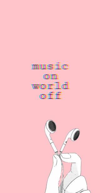 Обои на телефон сбой, эстетические, розовые, наушники, музыка, мир, милые, pink aesthetic 3, pink aesthetic, music on world of, ear buds