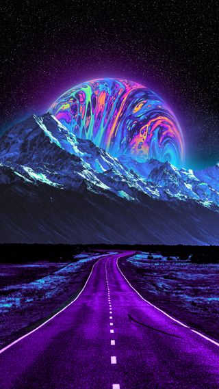 Обои на телефон странные, цветные, фиолетовые, текстуры, сюрреалистичный, синие, розовые, радуга, психоделические, прекрасные, красочные, желтые, волны, вейпорвейв, абстрактные, transfiguration, iridescent, holographic, fluid, acrylic, Transfiguration, Geoglyser, Colorful, Color