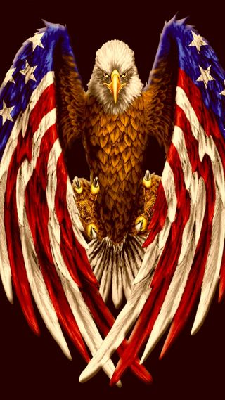 Обои на телефон флаги, флаг, орел, американские, америка, american flag eagle