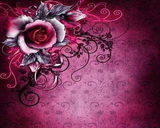 Обои на телефон бумага, розы, винтаж