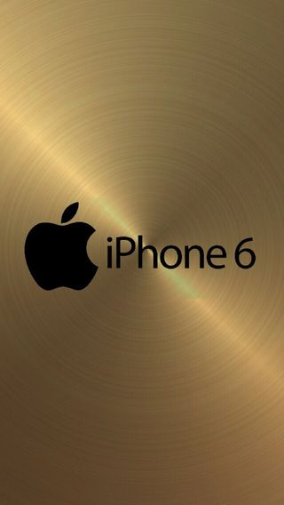 Обои на телефон золотые, айфон, iphone 6 in gold