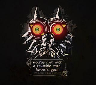 Обои на телефон цитата, нинтендо, маска, игровые, игра, зельда, высказывания, nintendo, majoras mask quote, majoras mask, link