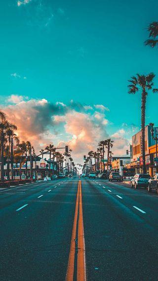 Обои на телефон улица, сша, природа, пейзаж, калифорния, город, usa