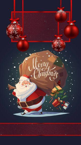 Обои на телефон счастливое, рождество, icio, natale