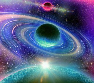 Обои на телефон глубокие, космос, картина, зодиак, deep space, astrology