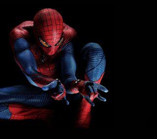 Обои на телефон супергерои, черные, человек паук, синие, красые, spiderman hd