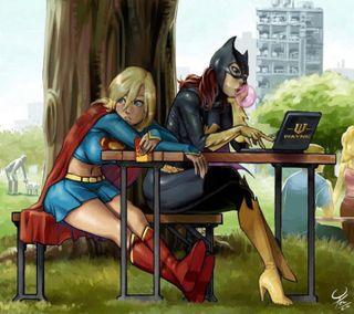 Обои на телефон женщина, фильмы, супер, мультфильмы, кошки, женщина кошка, анимационные, superwoman, super cat woman
