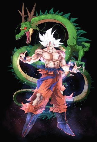 Обои на телефон ультра, супер, мяч, дракон, гоку, migatte no gokui, migatte, instinto, gokui, dragon