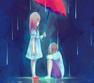 Обои на телефон классные, любовь, аниме, love, anime love