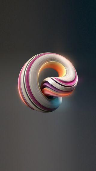 Обои на телефон спираль, цветные, темные, сяоми, серые, радуга, красочные, абстрактные, xiaomi, miui, 3д, 3d