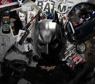 Обои на телефон рыцарь, темные, бэтмен, dark knight items