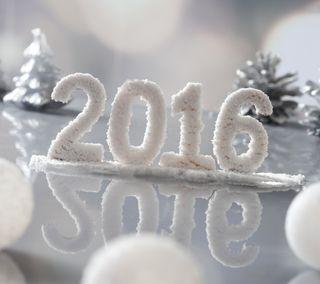 Обои на телефон год, счастливые, happy, 2016