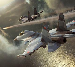Обои на телефон реактивный, боец, su30mki, jet fighter