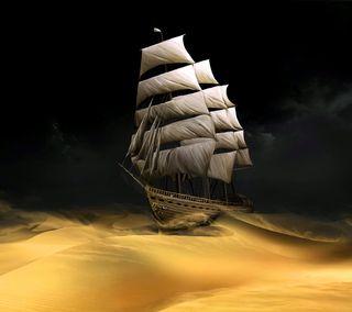 Обои на телефон песок, парусные, xs, sailing sand, gi