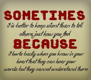 Обои на телефон чувствовать, цитата, тихий, поговорка, повредить, новый, крутые, иногда, знаки, грустные
