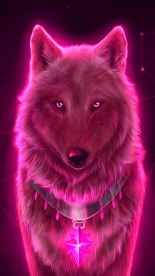 Обои на телефон рисунки, милые, красые, звезда, животные, волк